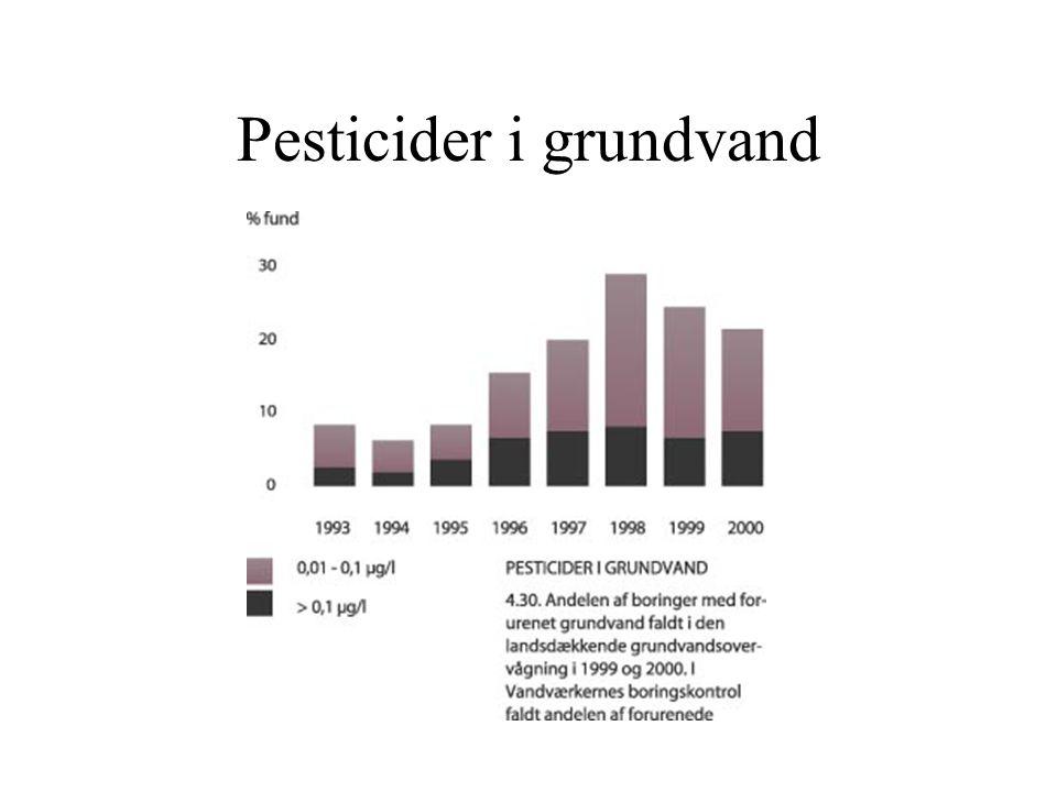 Pesticider i grundvand