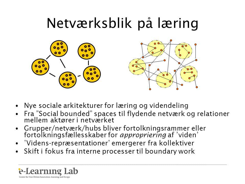 Netværksblik på læring
