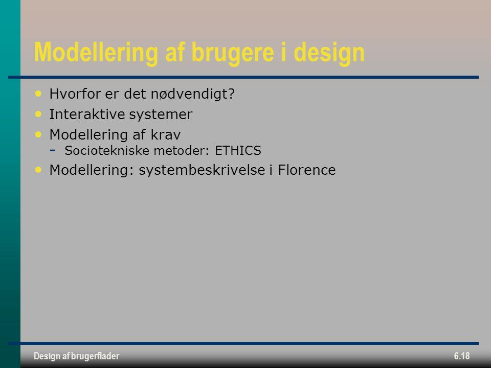 Modellering af brugere i design