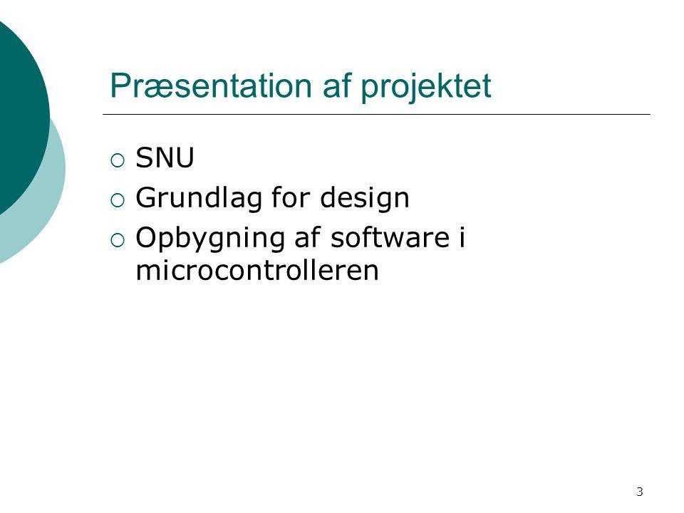 Præsentation af projektet