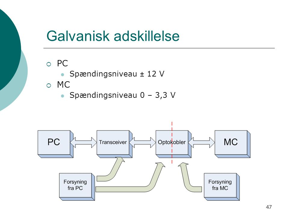 Galvanisk adskillelse