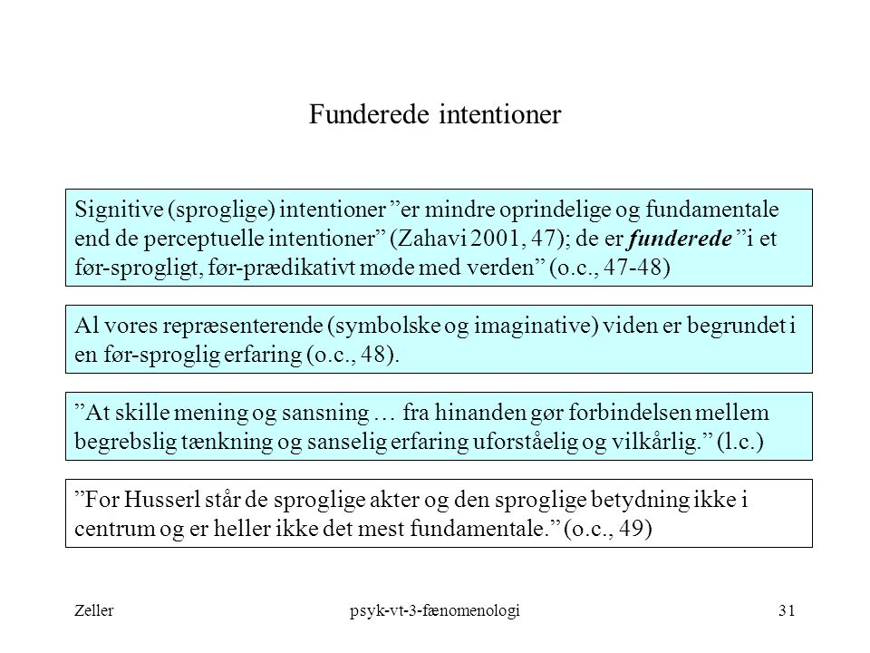 Funderede intentioner