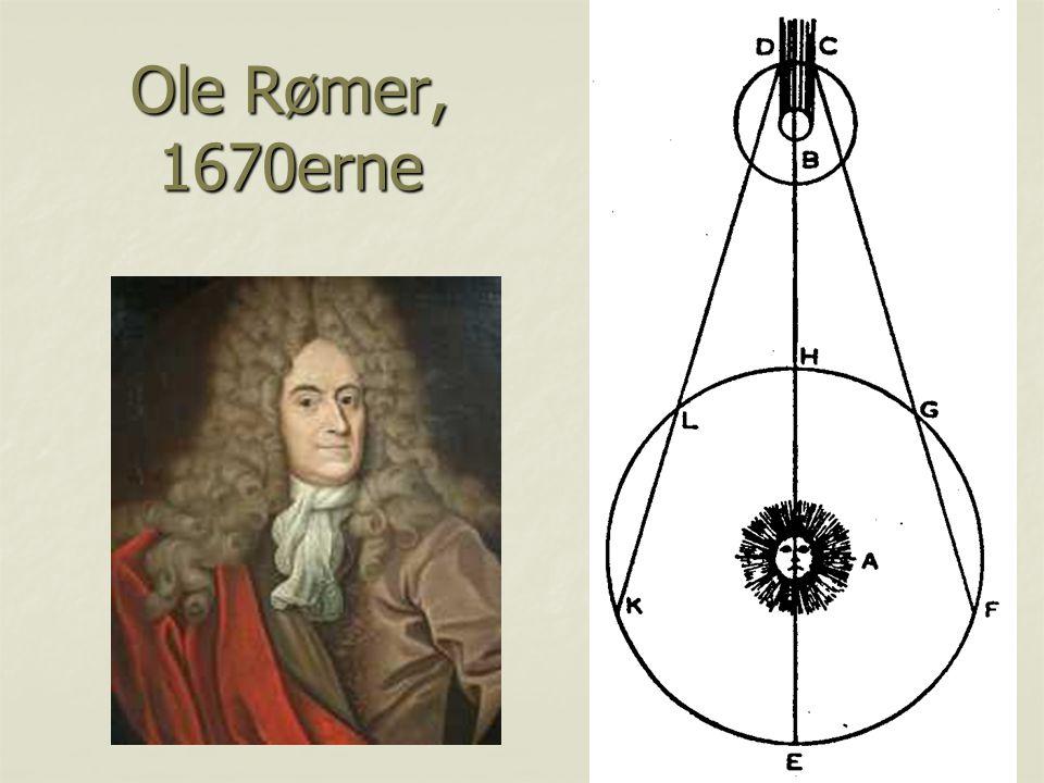 Ole Rømer, 1670erne