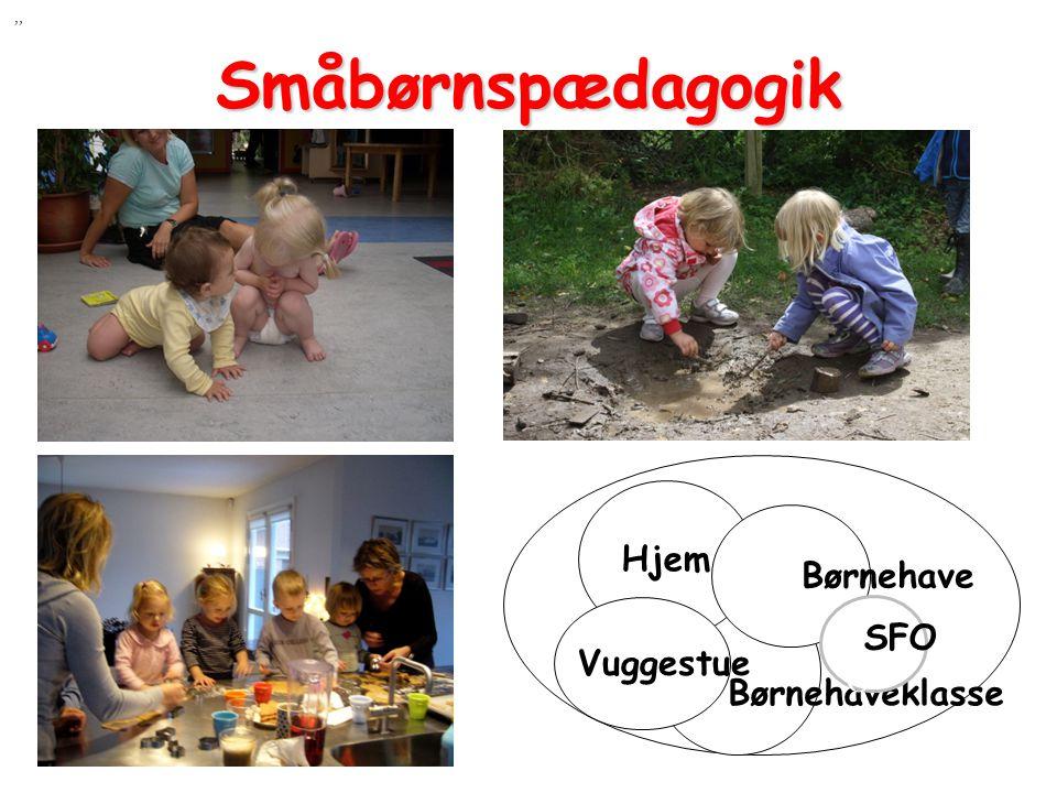 Småbørnspædagogik Hjem Børnehave Børnehaveklasse Vuggestue SFO SFO