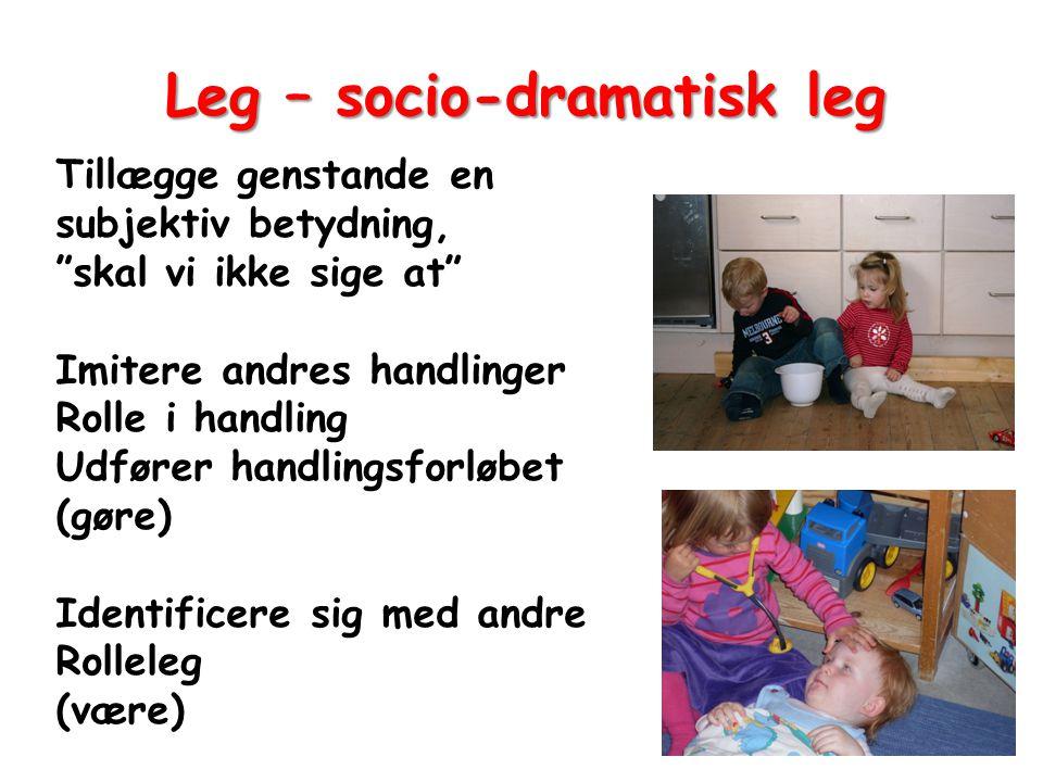 Leg – socio-dramatisk leg