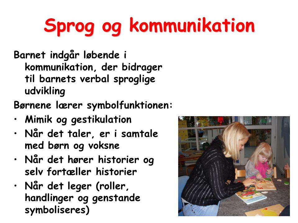 Sprog og kommunikation