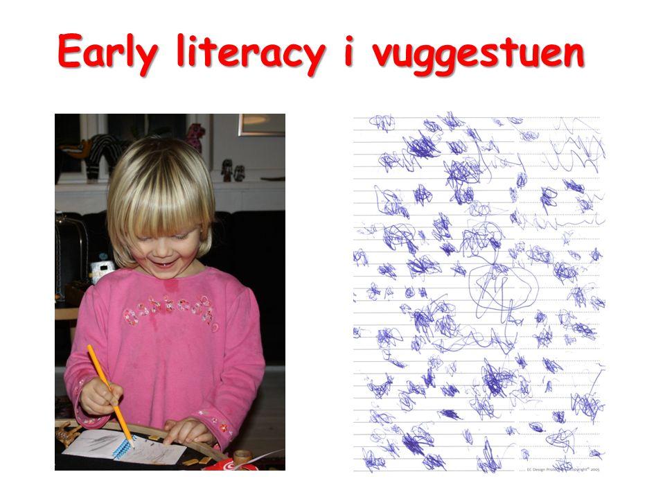 Early literacy i vuggestuen