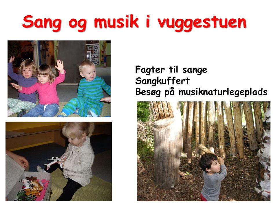 Sang og musik i vuggestuen