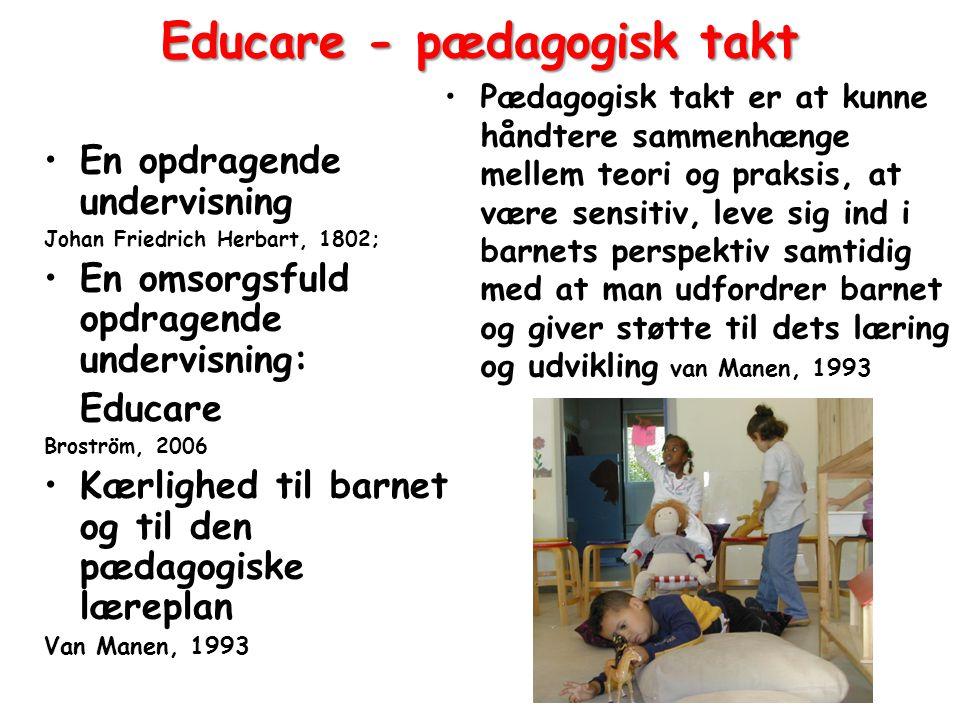 Educare - pædagogisk takt