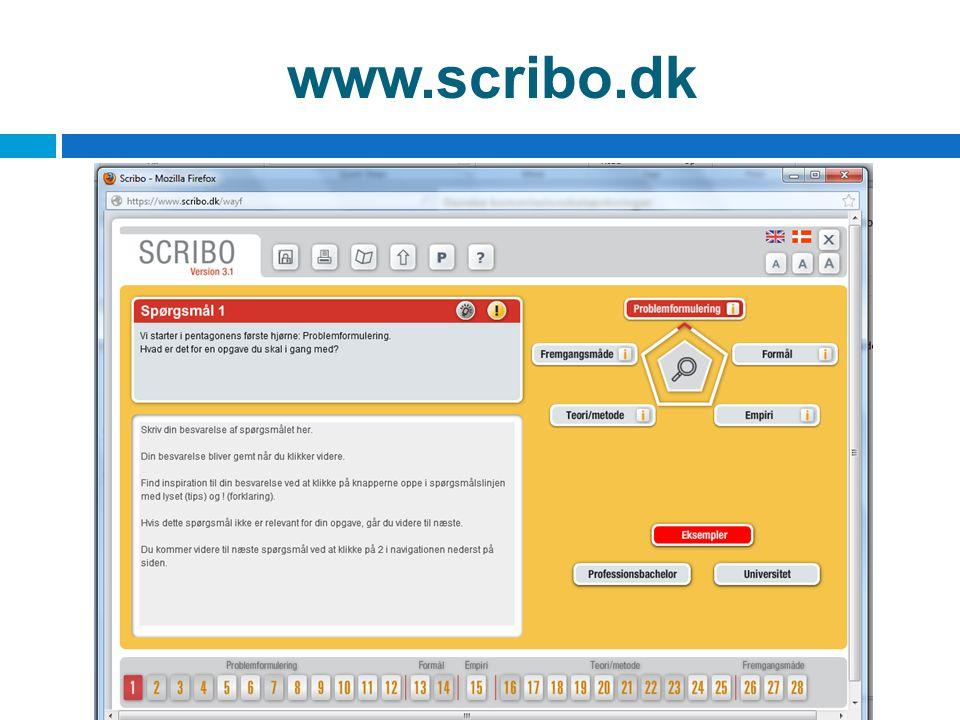 www.scribo.dk