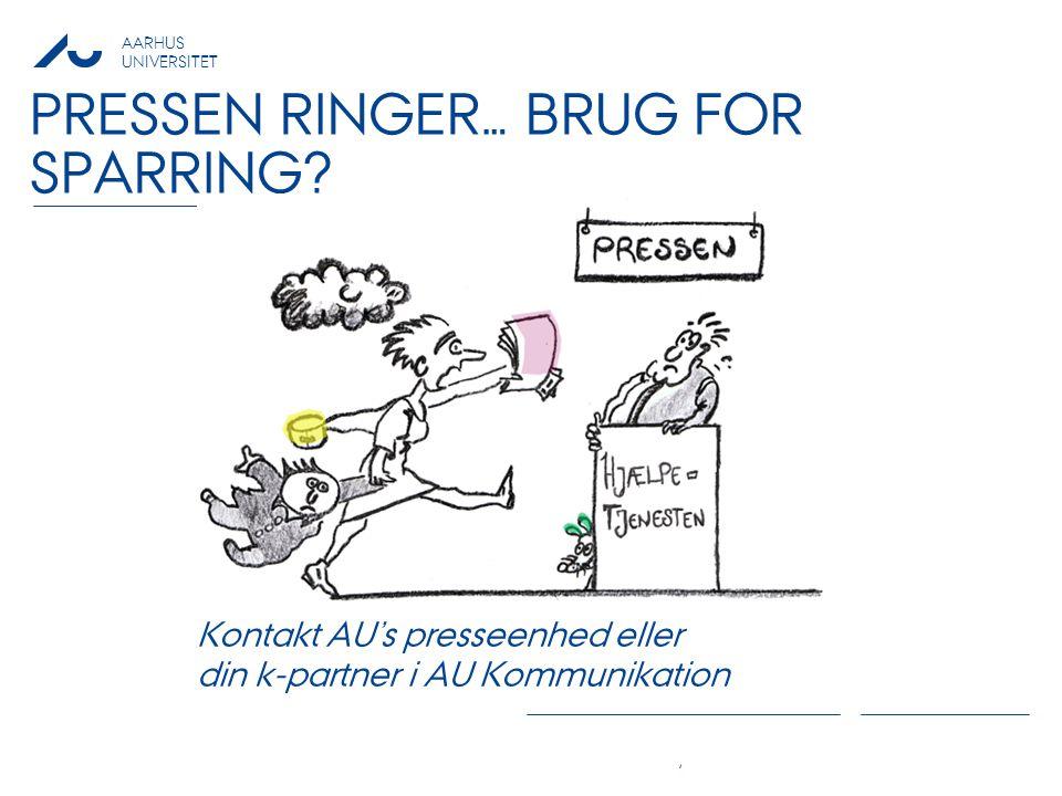 Pressen ringer… brug for Sparring