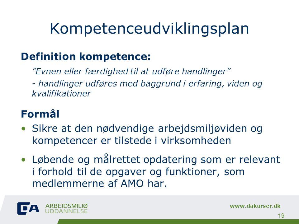 Kompetenceudviklingsplan