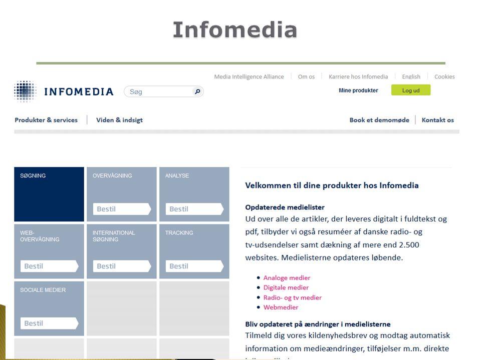 Infomedia AU Library, BSS, Bartholins Allé - Efterår 2013