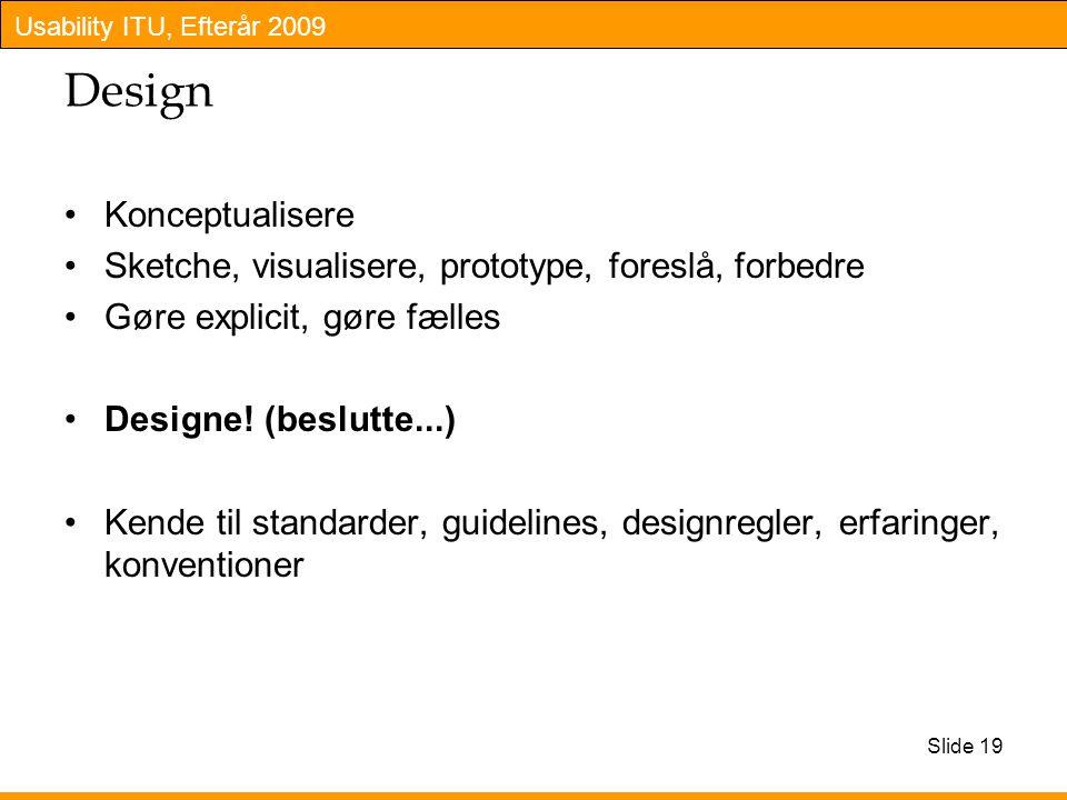 Design Konceptualisere