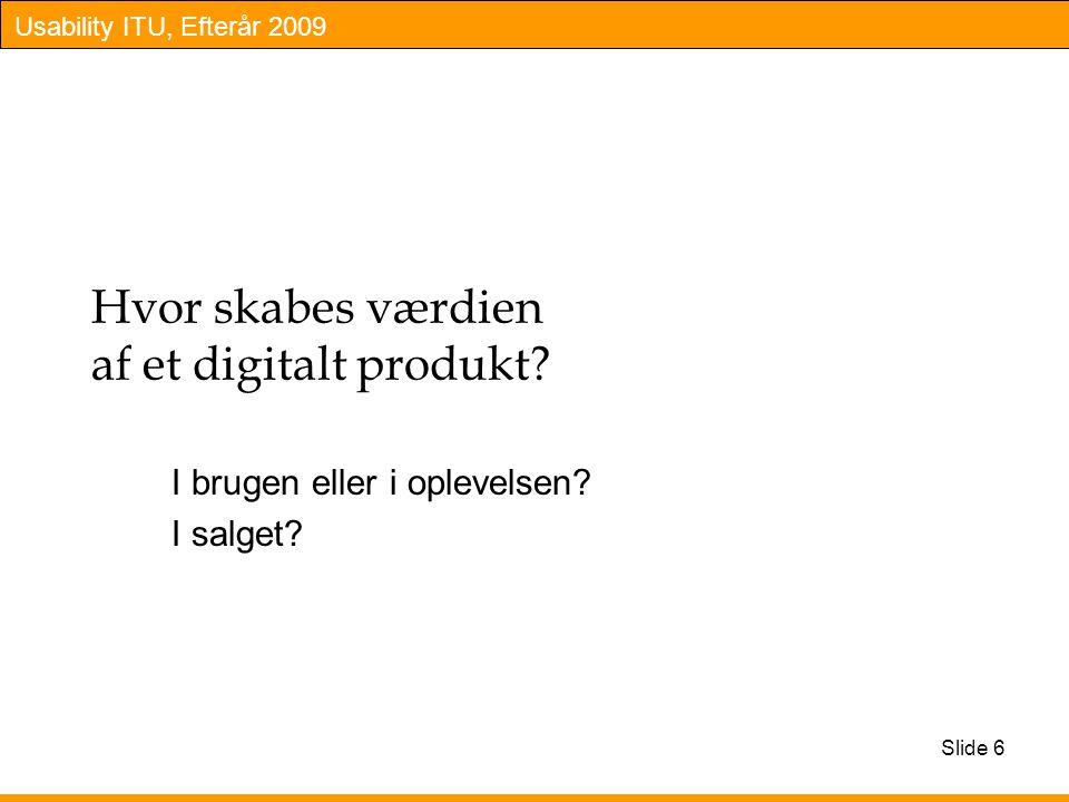 Hvor skabes værdien af et digitalt produkt