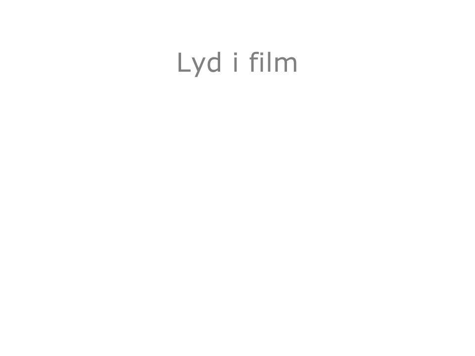 Lyd i film