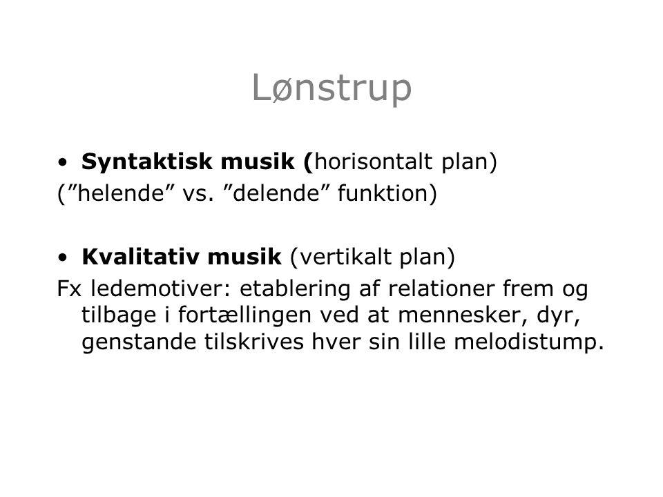 Lønstrup Syntaktisk musik (horisontalt plan)