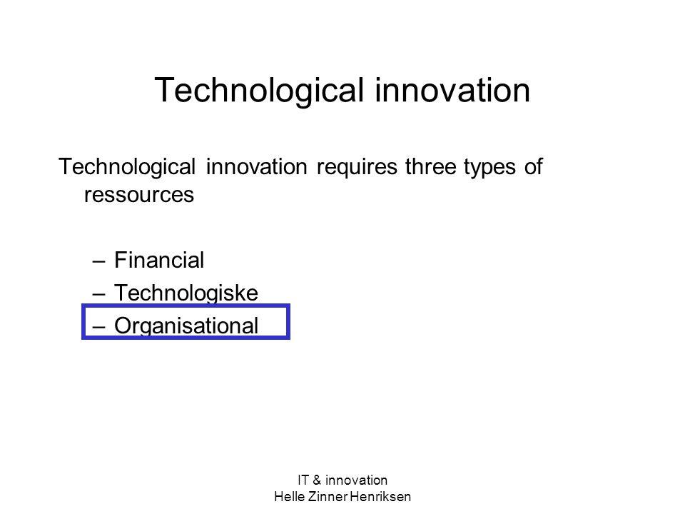 Technological innovation