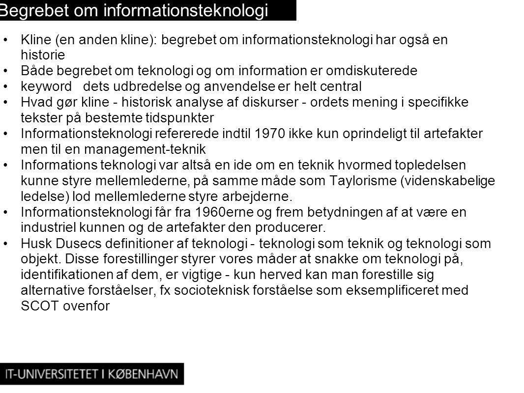 Begrebet om informationsteknologi