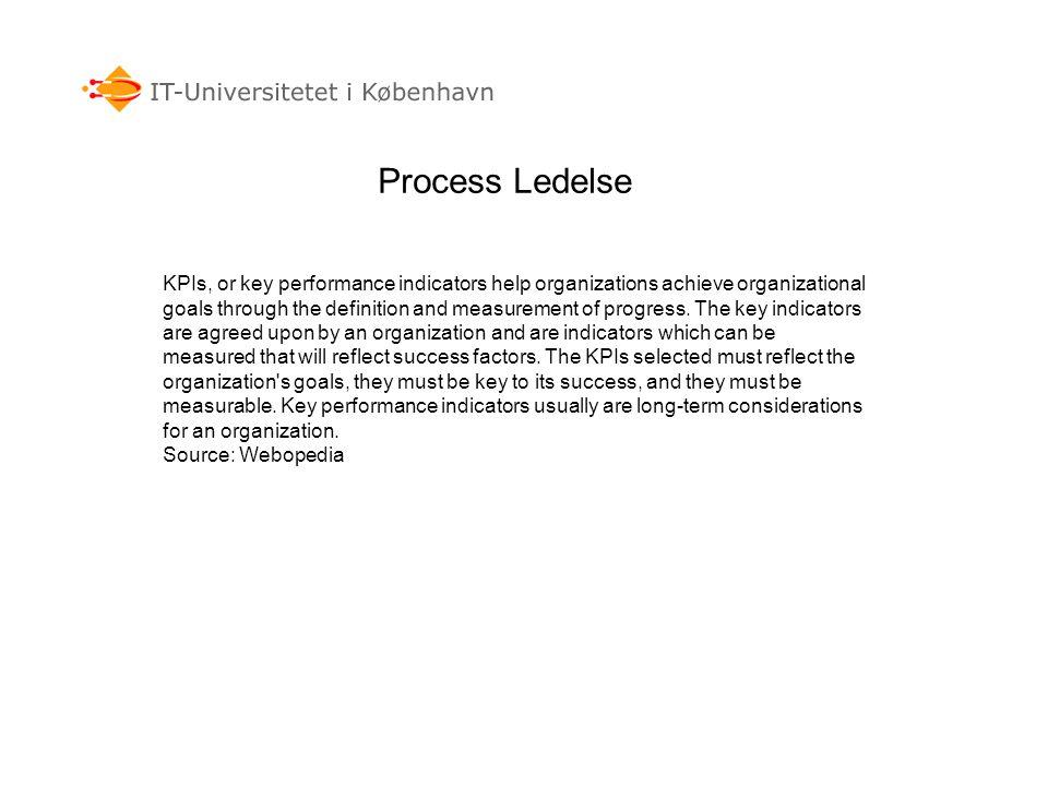 Process Ledelse