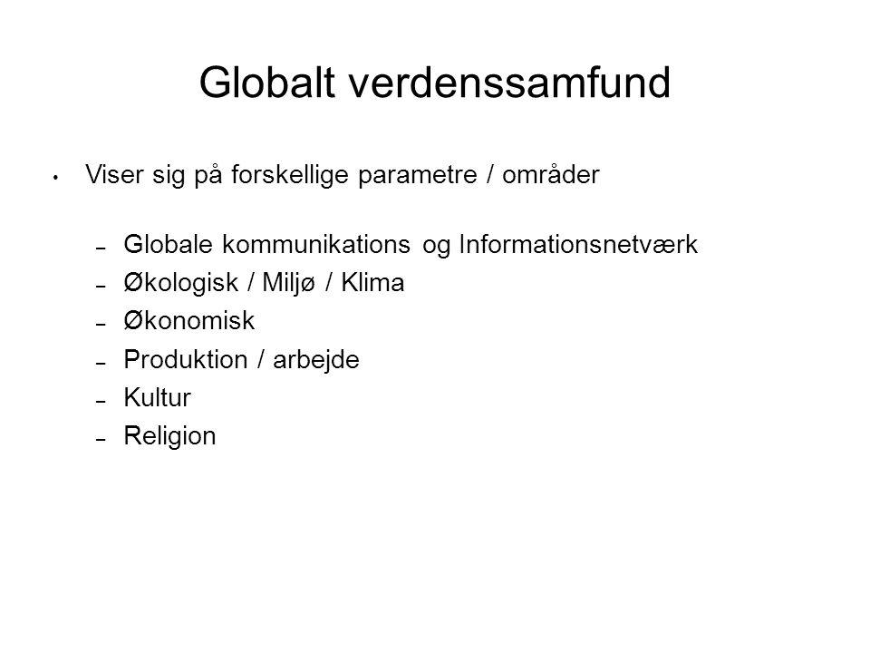 Globalt verdenssamfund