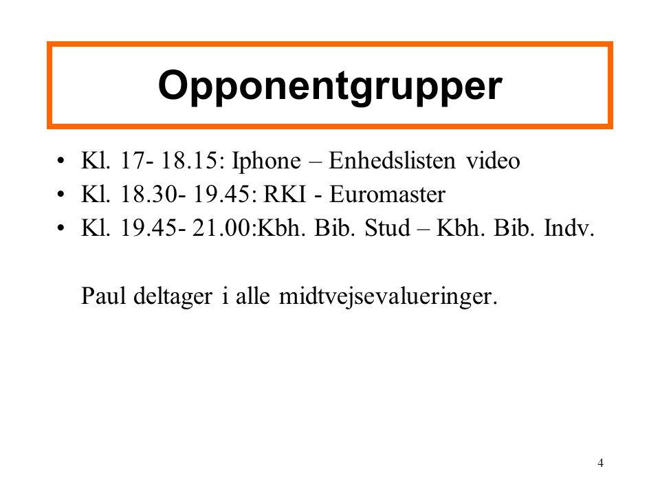 Opponentgrupper Kl. 17- 18.15: Iphone – Enhedslisten video