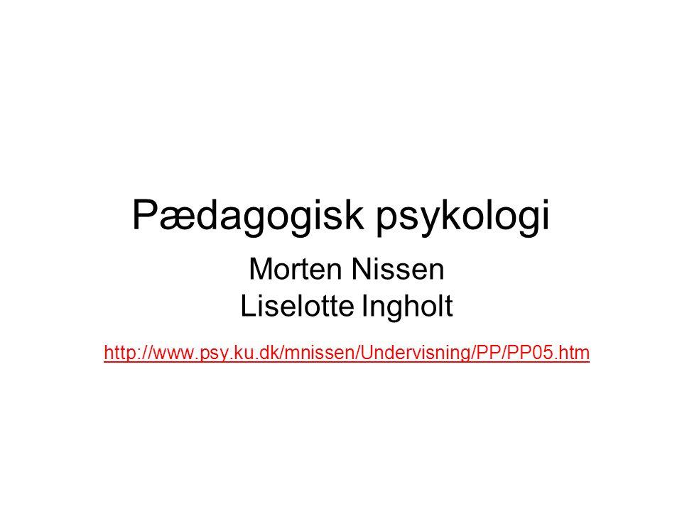 Morten Nissen Liselotte Ingholt