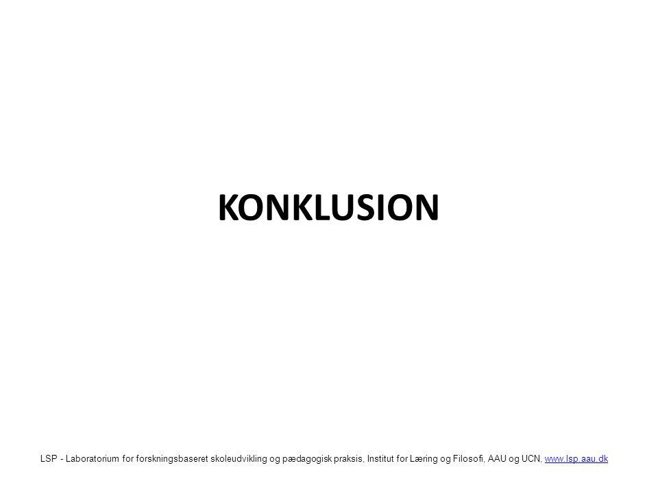 KONKLUSION