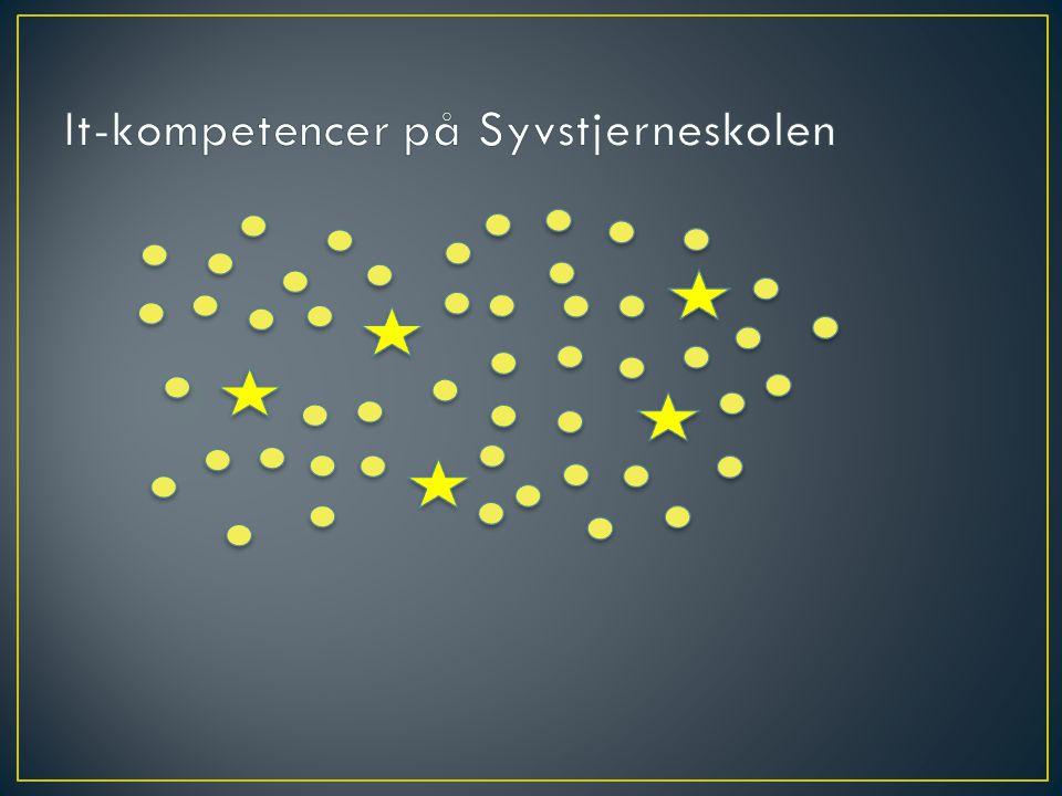 It-kompetencer på Syvstjerneskolen