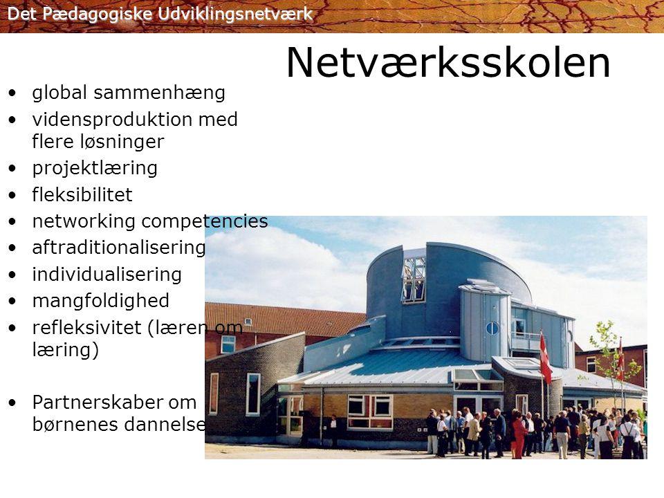 Netværksskolen global sammenhæng vidensproduktion med flere løsninger