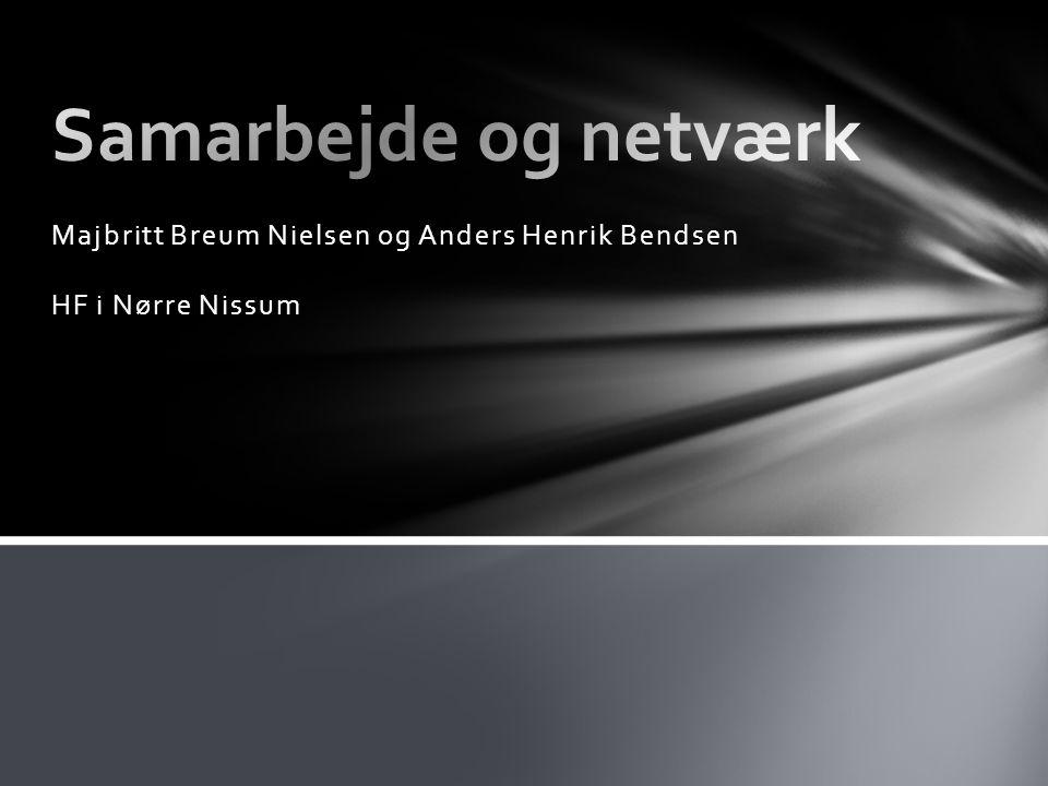 Majbritt Breum Nielsen og Anders Henrik Bendsen HF i Nørre Nissum