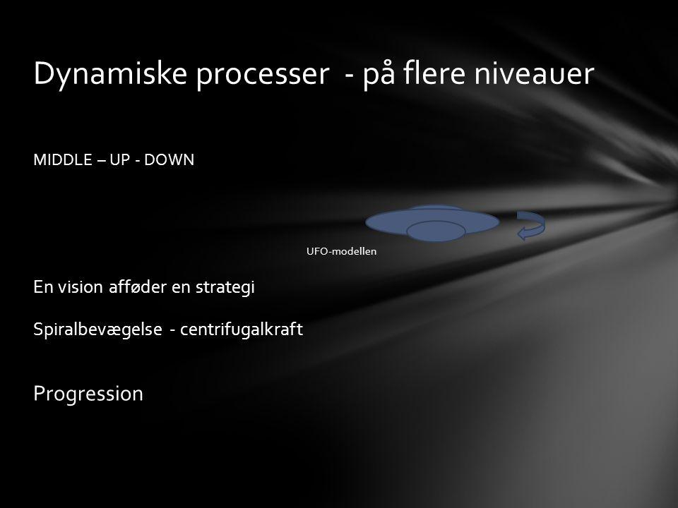 Dynamiske processer - på flere niveauer