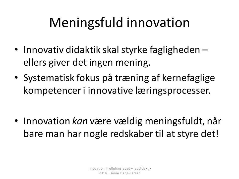 Meningsfuld innovation
