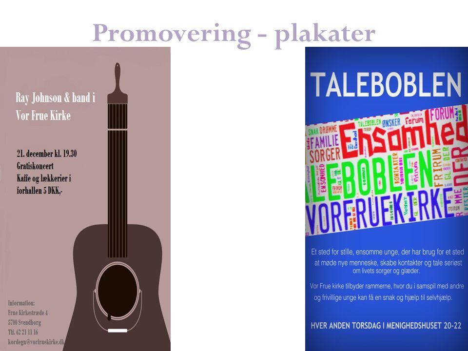 Promovering - plakater