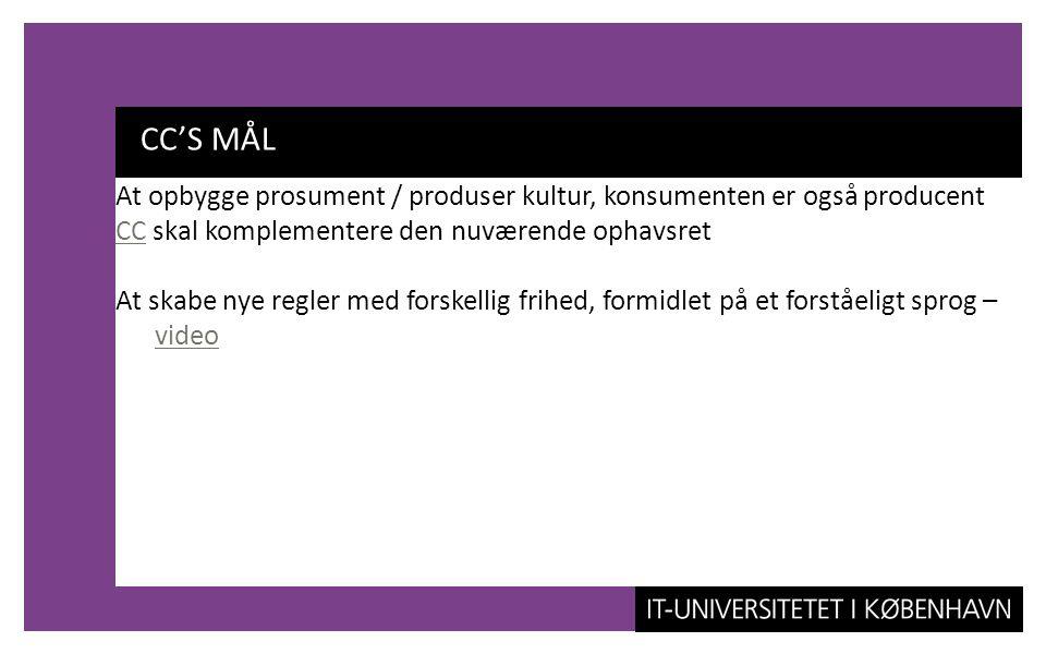 CC'S MÅL