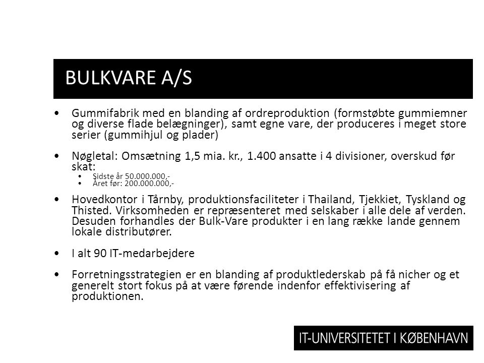 BulkVare A/S