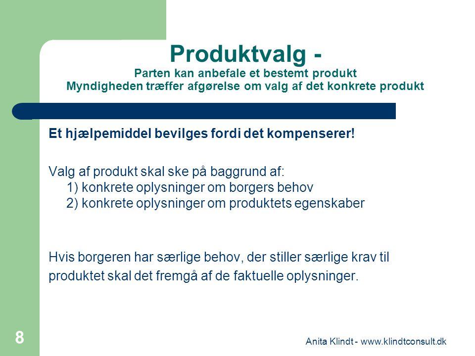 Anita Klindt - www.klindtconsult.dk