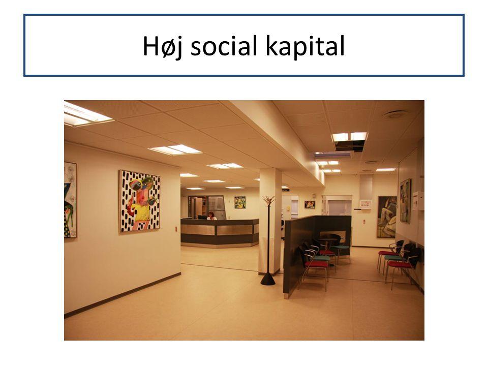 Høj social kapital