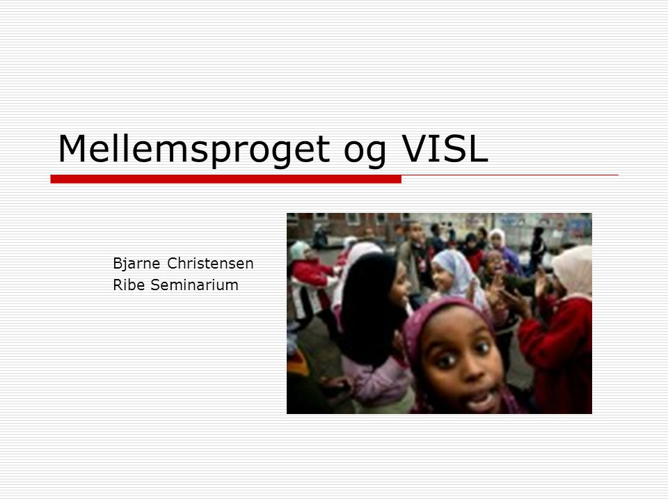 Bjarne Christensen Ribe Seminarium