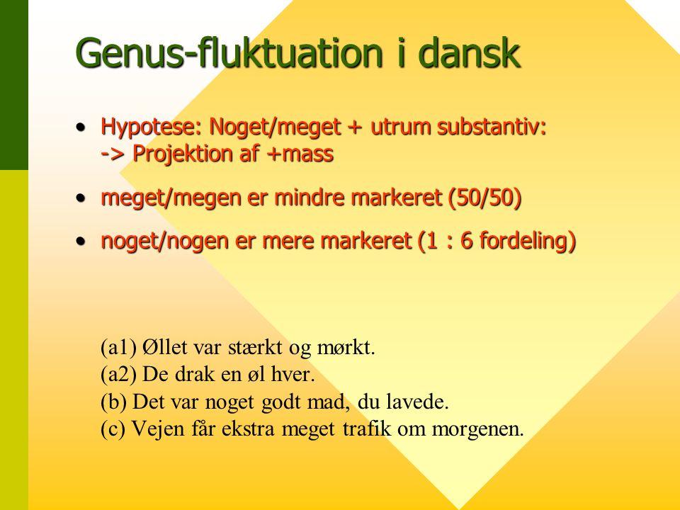 Genus-fluktuation i dansk