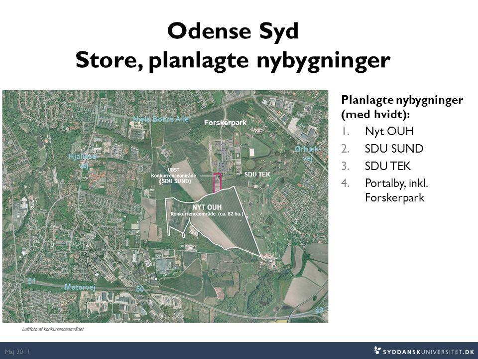 Odense Syd Store, planlagte nybygninger