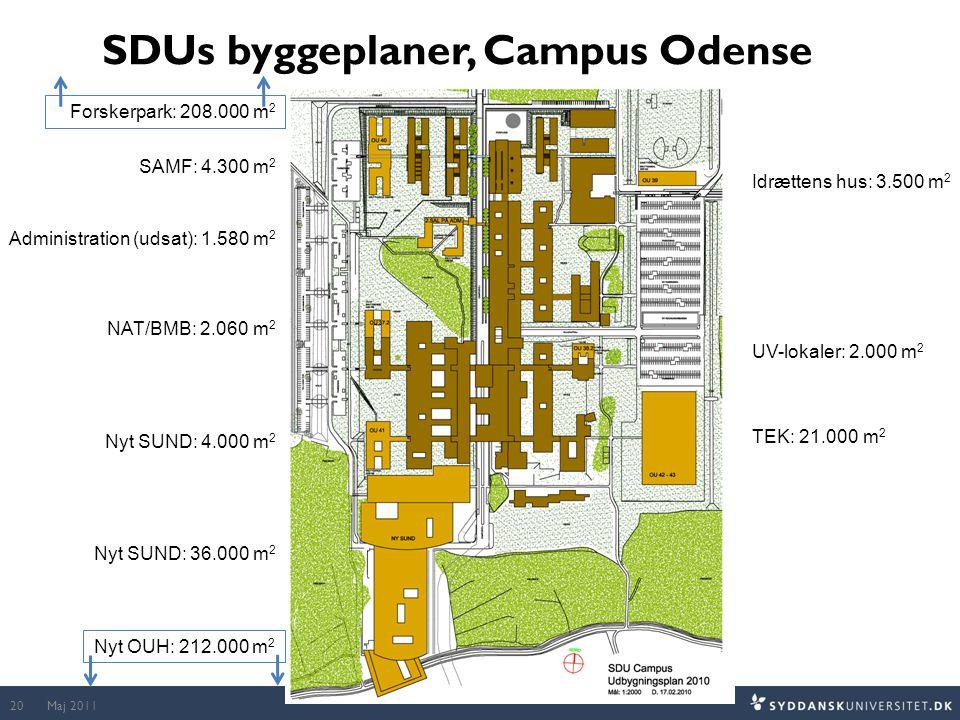 SDUs byggeplaner, Campus Odense