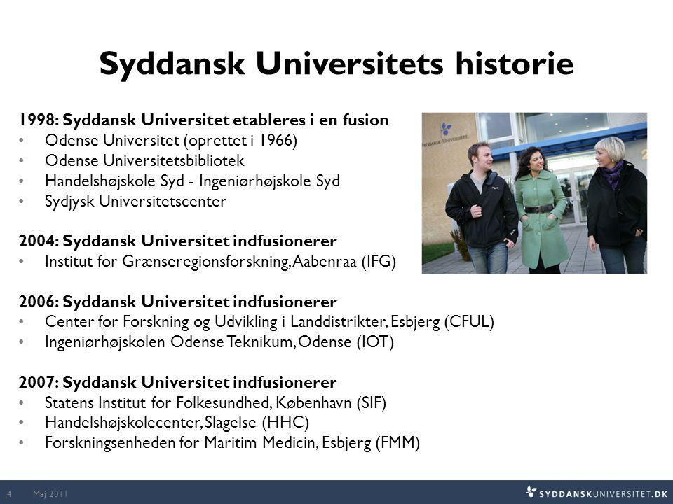 Syddansk Universitets historie