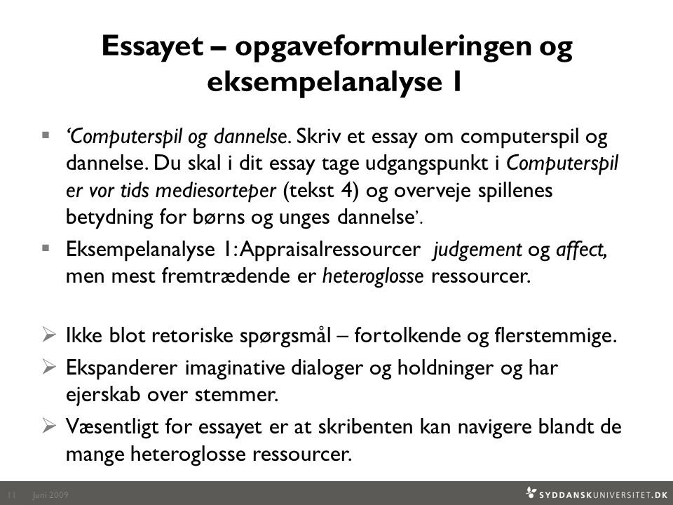 essay om computerspil Literary research paper rubric  abridgment of the know how not personal essay om computerspil og dannelse 2016 posted: 16 apr 15, 218 threads: 134 mrs.