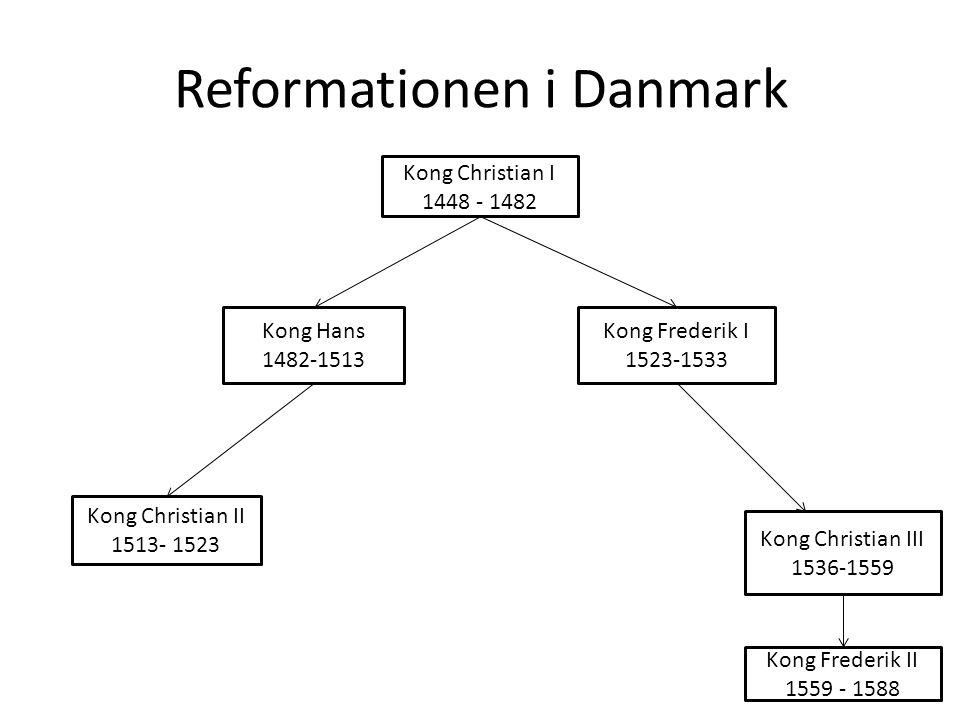 reformationen gennemføres i danmark