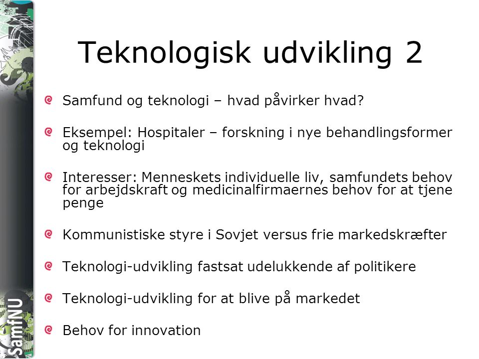 Teknologisk udvikling 2