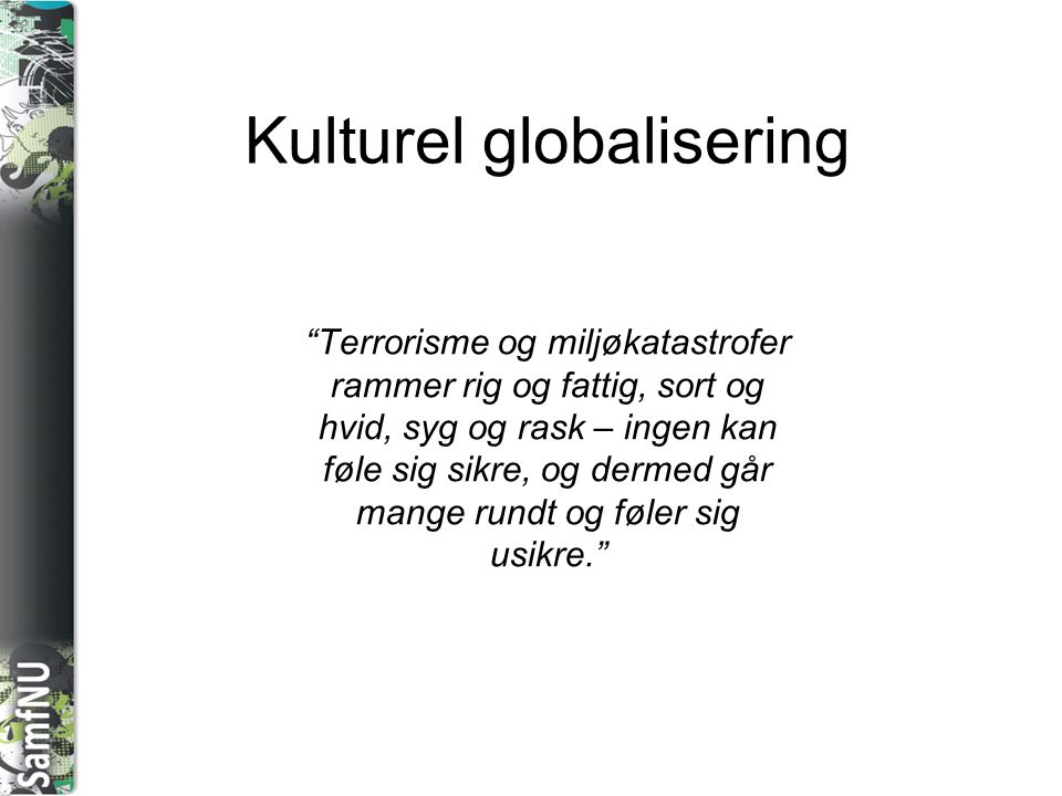 Kulturel globalisering
