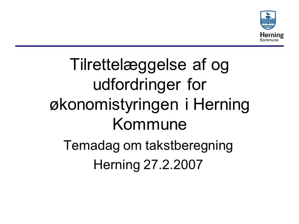 Temadag om takstberegning Herning 27.2.2007