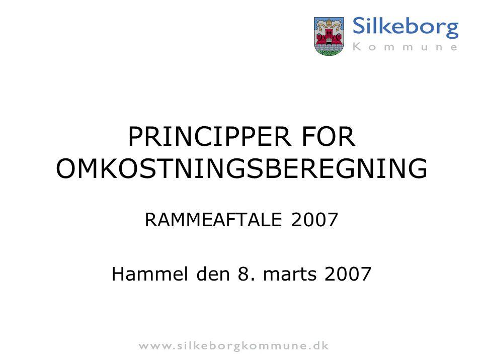 PRINCIPPER FOR OMKOSTNINGSBEREGNING