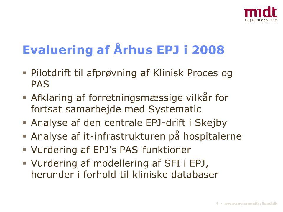 Evaluering af Århus EPJ i 2008